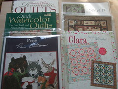 Books and some patterns from the TS