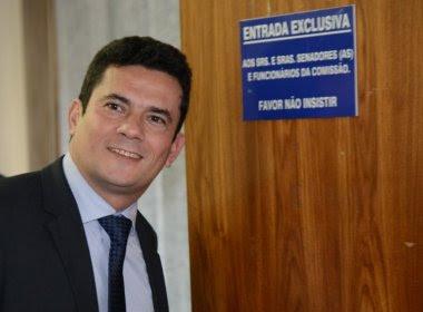 Sergio Moro lidera intenções de voto para Presidência da República em pesquisa do PT