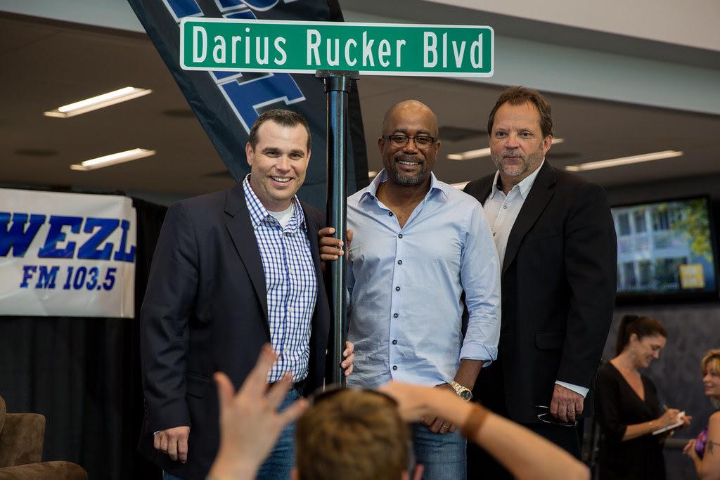 Darius Rucker Blvd unveiled