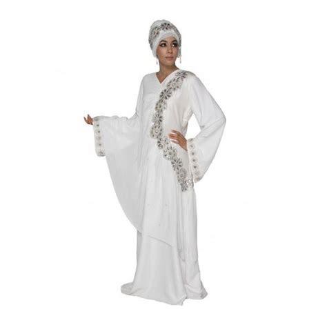 Bridal Hijab   Serenity Angel Abaya Muslim Wedding Dress
