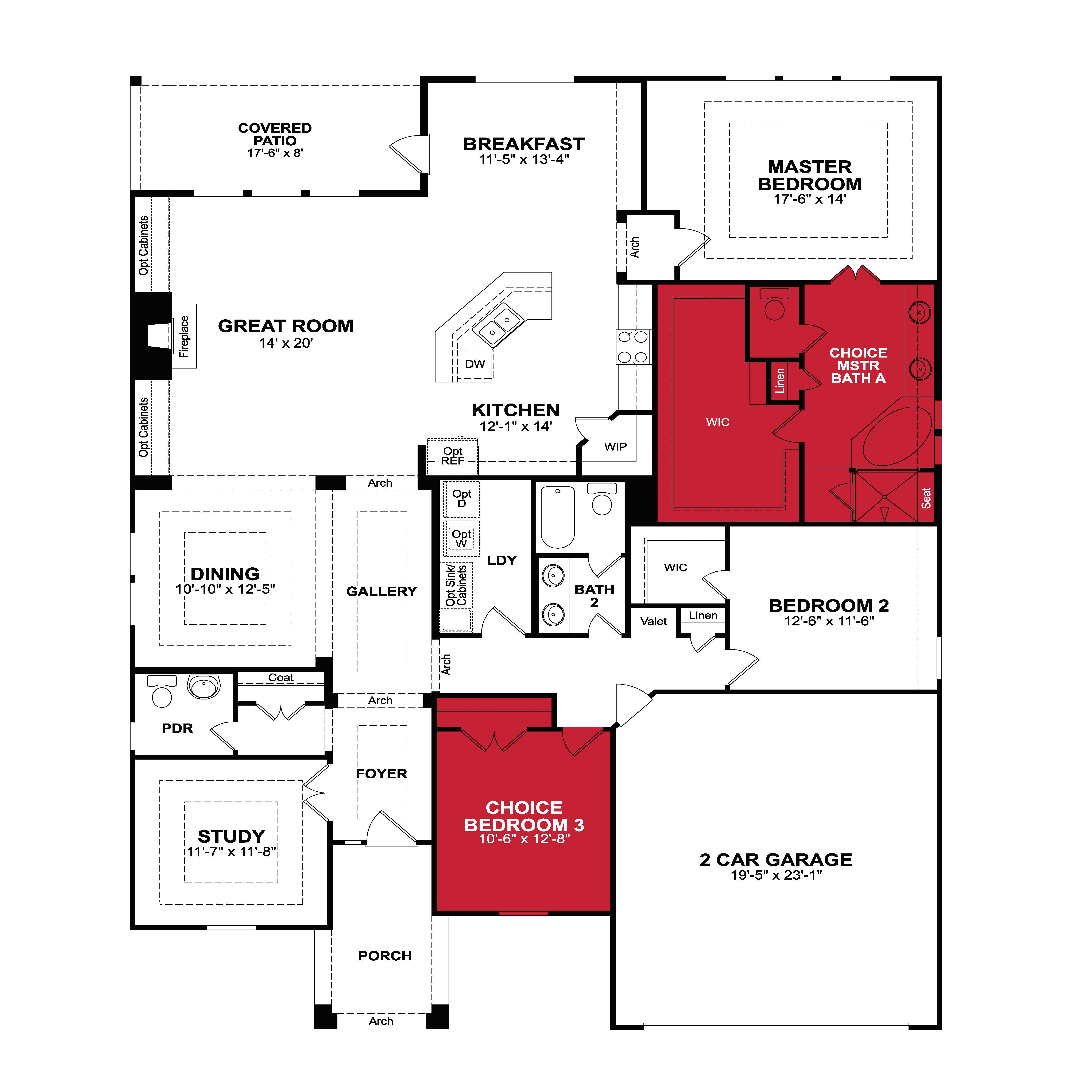 Beazer Homes Floor Plans House Plan