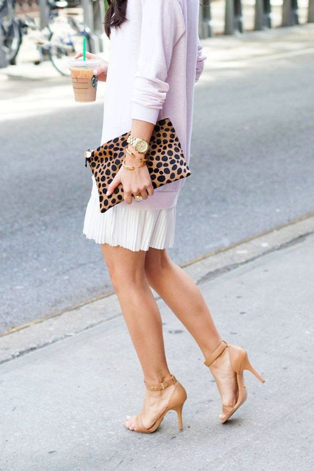 leopard and blush pink