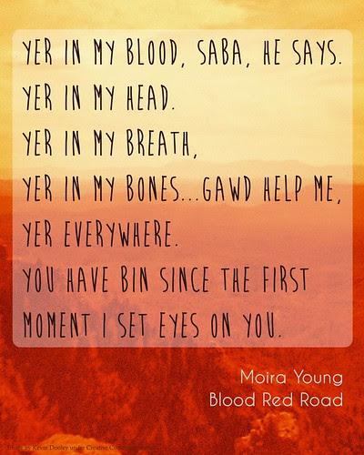 Blood Red Road Printable