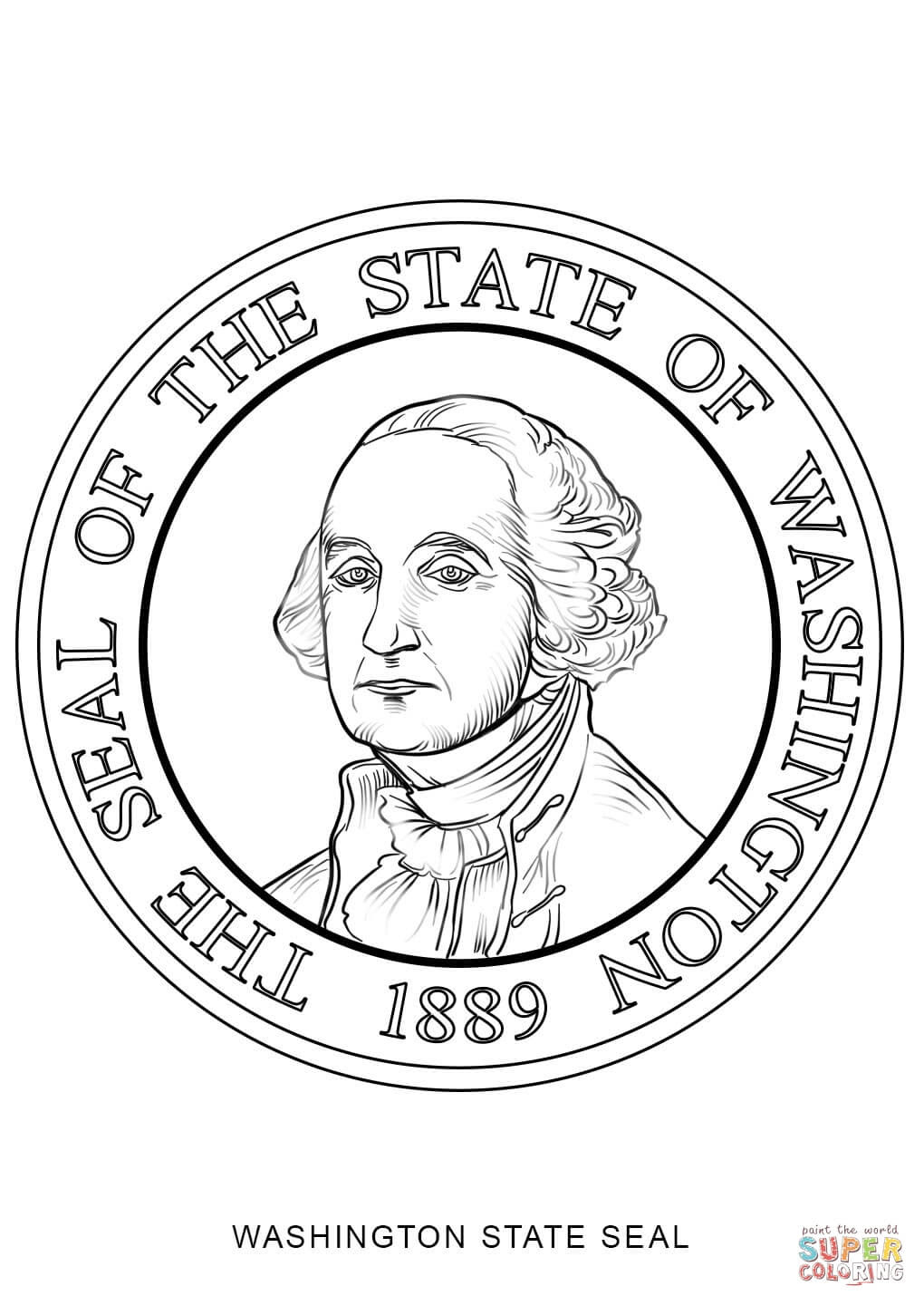 nc state seal coloring pages - photo#17