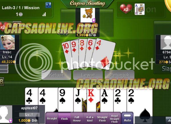 Permainan Kartu Capsa Banting