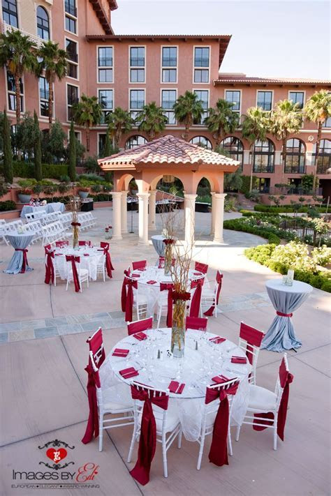 Andalusian Gardens Outdoor Reception at Westin Lake Las