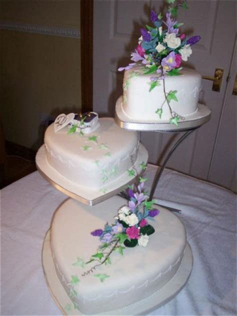 Heart Shaped Wedding Cakes   Best of Cake