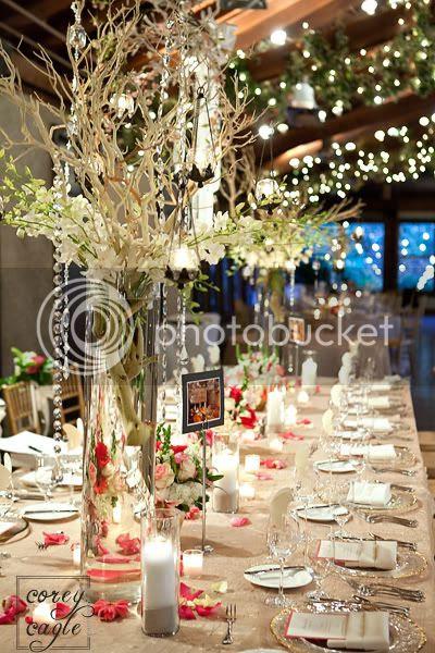 Deerpark wedding Reception Tables