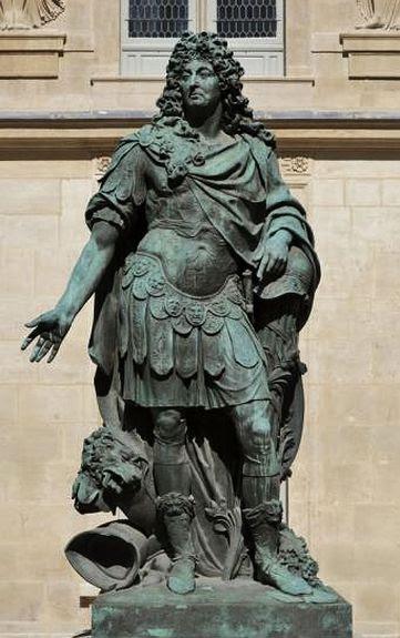 Coysevox  Louis XIV en empereur romain - Carnavalet