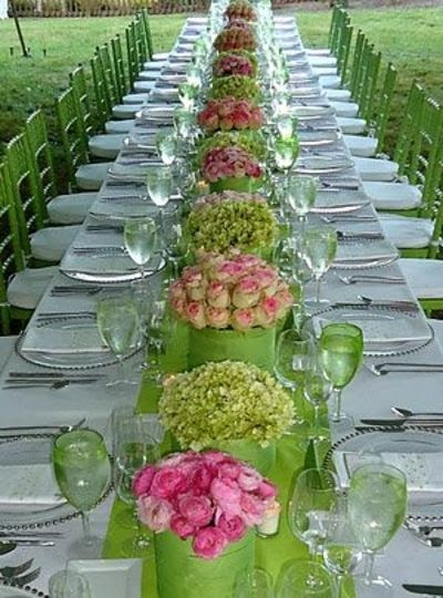 Lime Green With Pink Accents Wedding Ideas Juxtapost