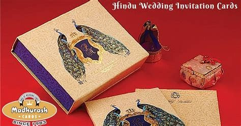 Tips For Selecting The Ideal Hindu Wedding Invitation   My