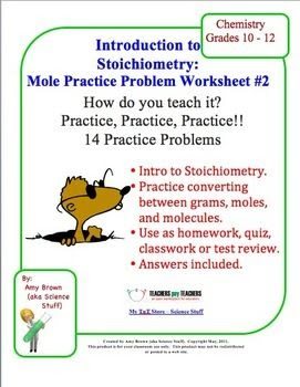 Stoichiometry Practice Worksheet Answer Key - worksheet