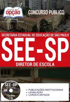 Concurso SEE SP 2017-DIRETOR DE ESCOLA