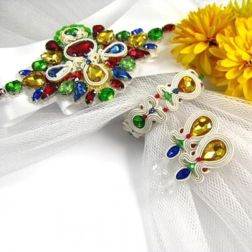 Folkowa biżuteria ślubna ustasz