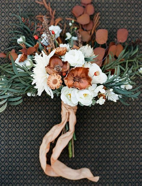 Southern Blue Celebrations: BROWN WEDDING BOUQUETS IDEAS