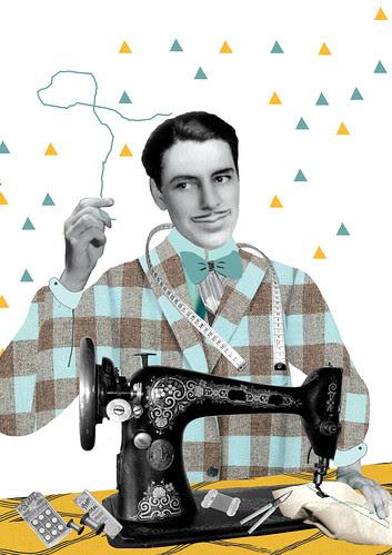 Workshop for sewing men by la casa a pois