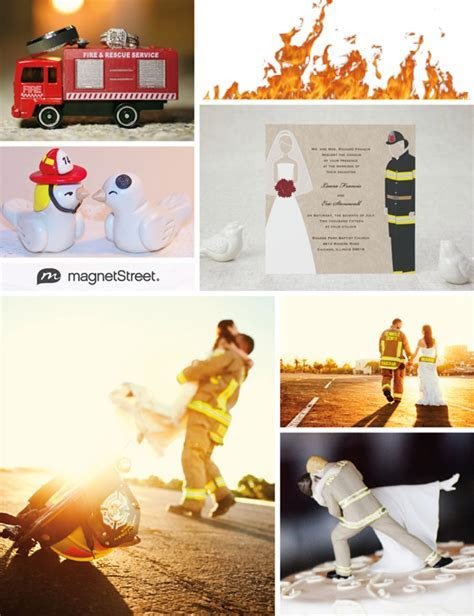 Firefighter Wedding: Inspiration to Ignite Your