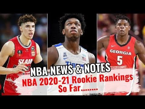 NBA Rookie Rankings 2020-21   FYF Sports Debates
