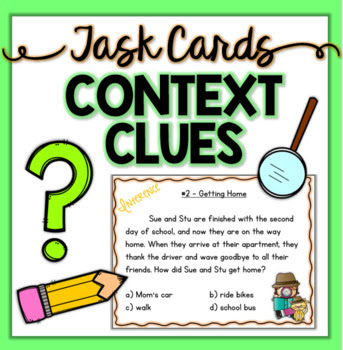 Reading Comprehension Task Cards ~ Daily Dose ~ Bundle