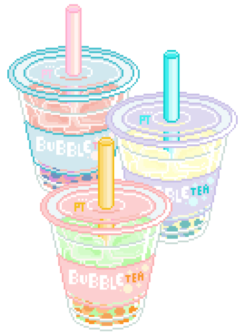 bubble tea time  +。・゚  o゚