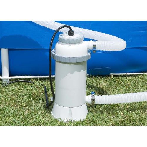 Avis intex 56684ef accessoires piscines r chauffeur - Rechauffeur de piscine intex 3 kw ...
