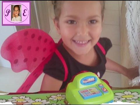 Elif Uğur Böceği Market Kasiyeri Eğlenceli çocuk Videosuvideo