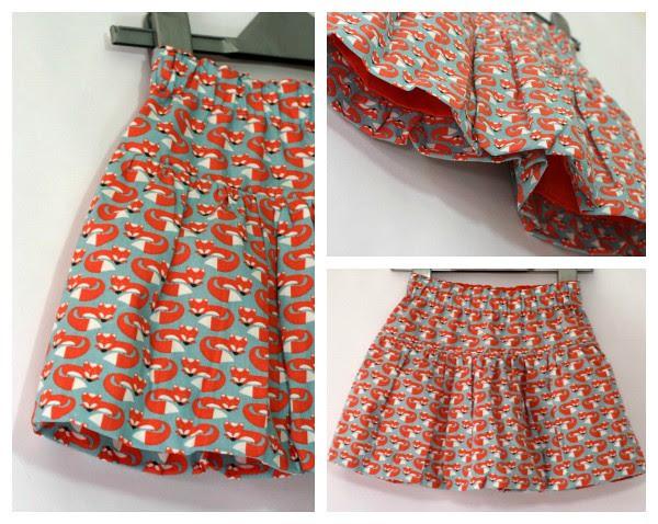 Skirt collage
