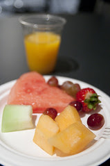 Breakfast at Press Center, Oracle OpenWorld & JavaOne + Develop 2010, Moscone North