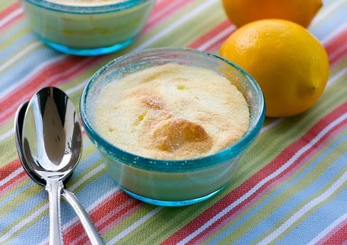 Easy Lemon Custard Cake
