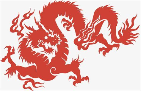 The Image Design Of Chinese Dragon, Chinese Clipart
