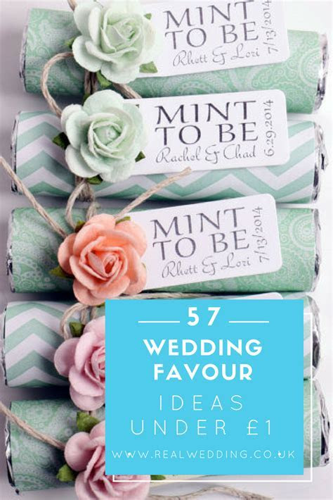 57 Cheap Wedding Favours Under £1   Real Wedding