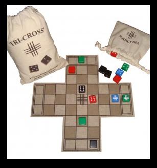 Tri-Cross Eco Board Game