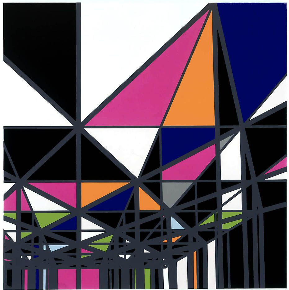 Sarah Morris Exhibitions Petzel Gallery