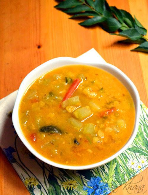 Chow Chow Dal Recipe