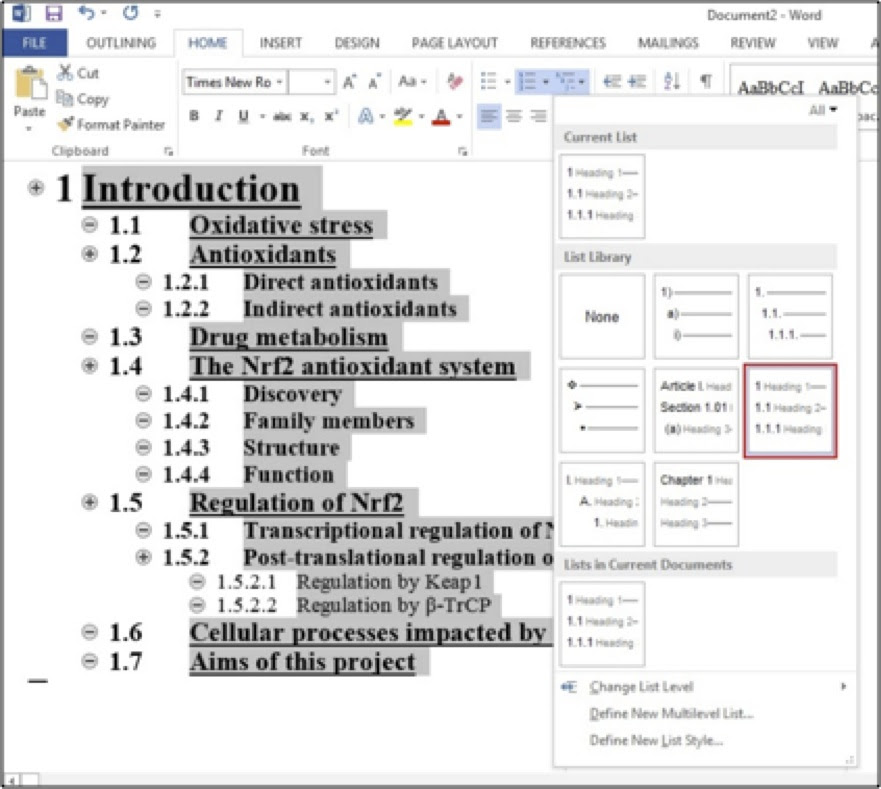 Microsoft Word Thesis Template - Thesis Title Ideas For College