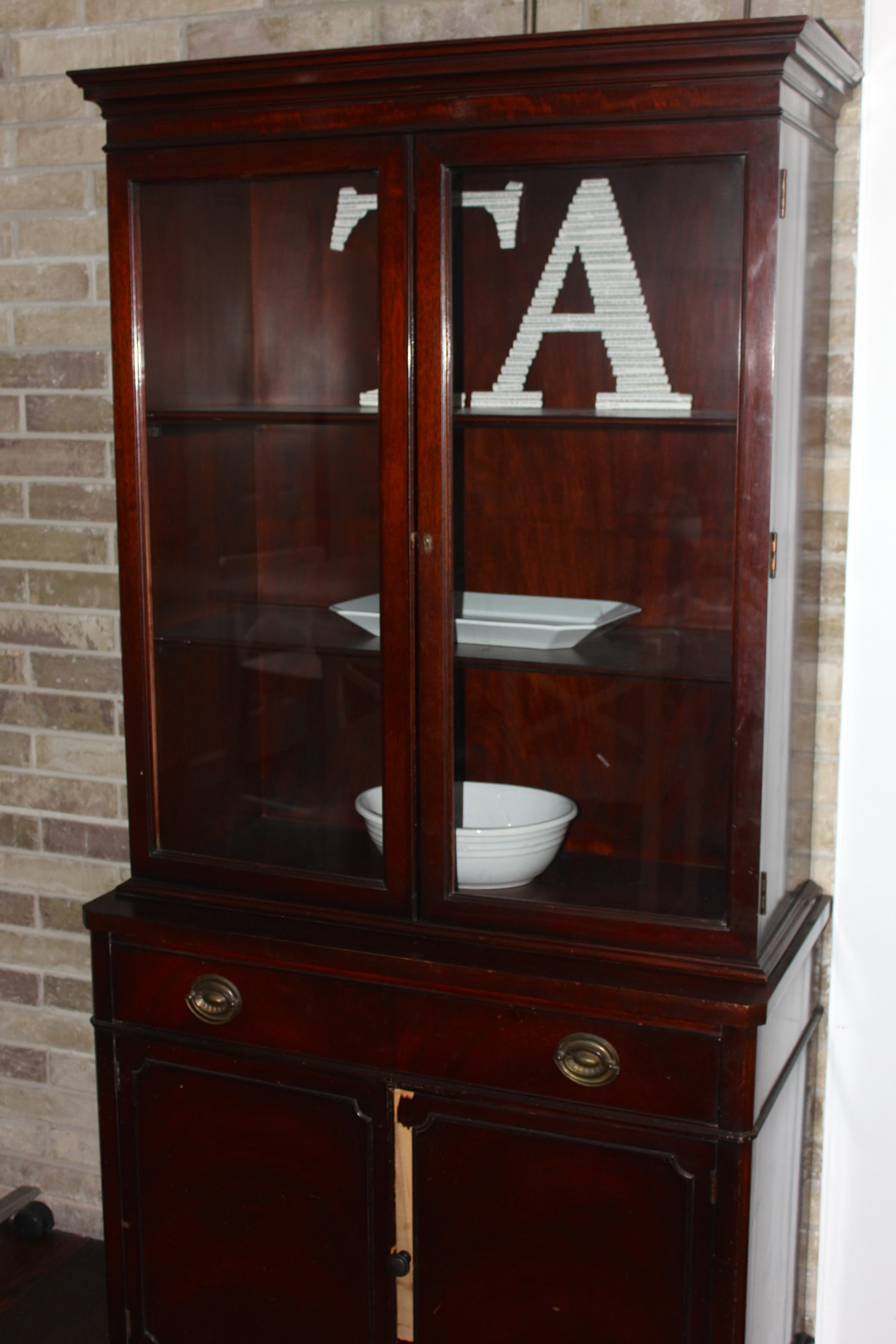 DIY Hutch Chalk Paint Makeover - The Happy Housewife ...