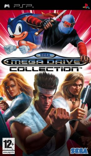 SEGA Mega Drive Collection, PSP - Juego (PSP, PlayStation Portable (PSP), Compilation, T (Teen), PlayStation Portable)