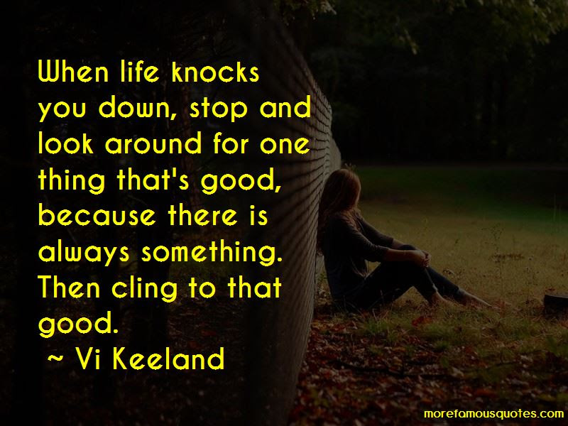 Quotes About When Life Knocks You Down Top 12 When Life Knocks You