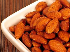 roasted almonds 2