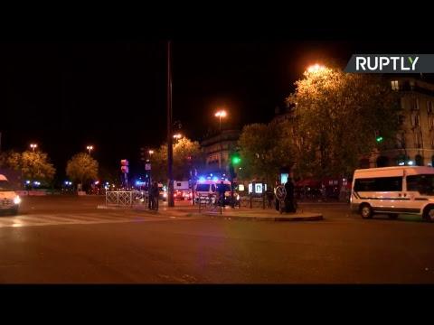 Protestas En El Centro De París (En Vivo)