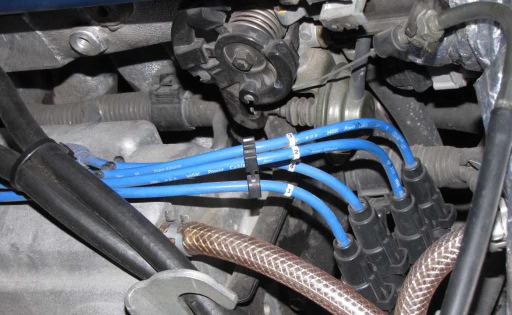 2000 Toyota Sienna Spark Plug Wire Diagram