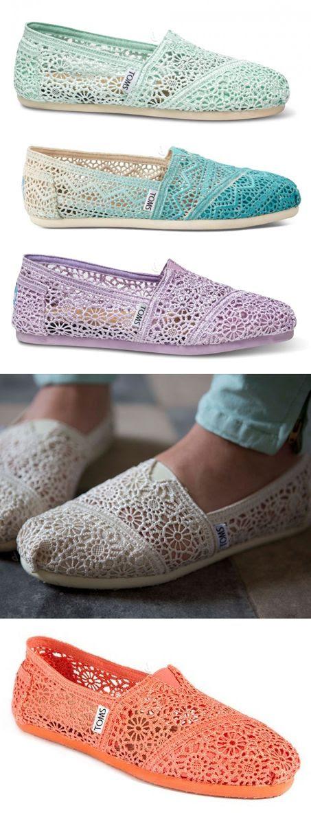 Crochet lace   TOMS