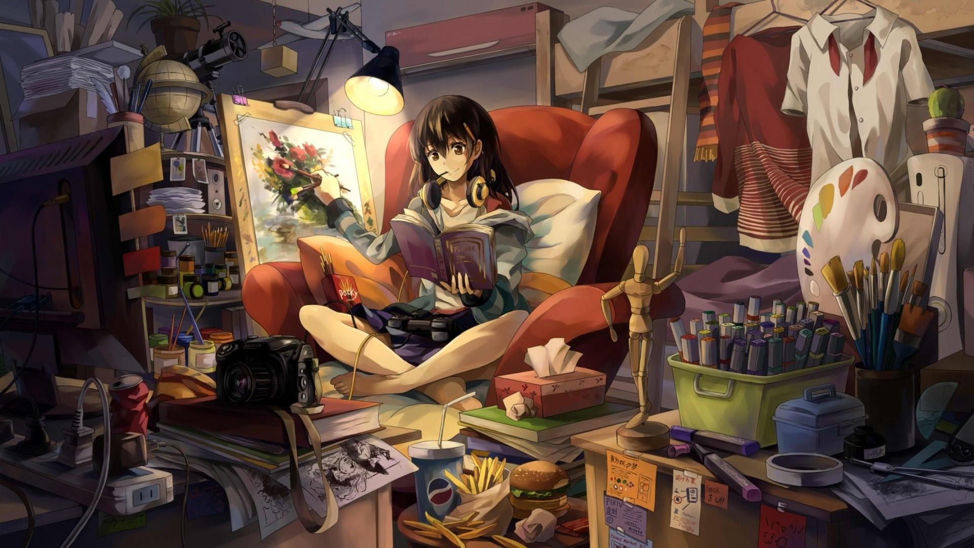 17 Gambar Anime Cowok Gamers Keren Arti Gambar