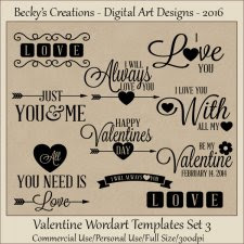 Valentine WordArt Templates 03-FS-Cu-PNG-Beckys Creations
