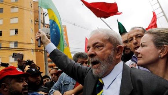 Defensa de Lula da Silva presenta primera apelación. Foto: Reuters.