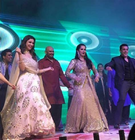 "Salman Khan and Parineeti Chopra 'Shake it Off"" on the"