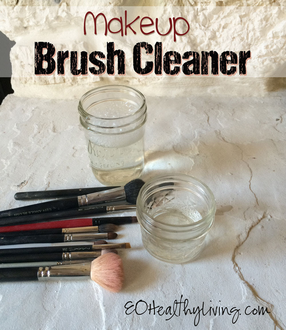 How to clean makeup brushes - Savvy Minerals by Young Living