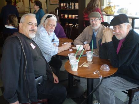 Paul Mavrides, Spain Rodriguez, R. Crumb e S. Clay Wilson