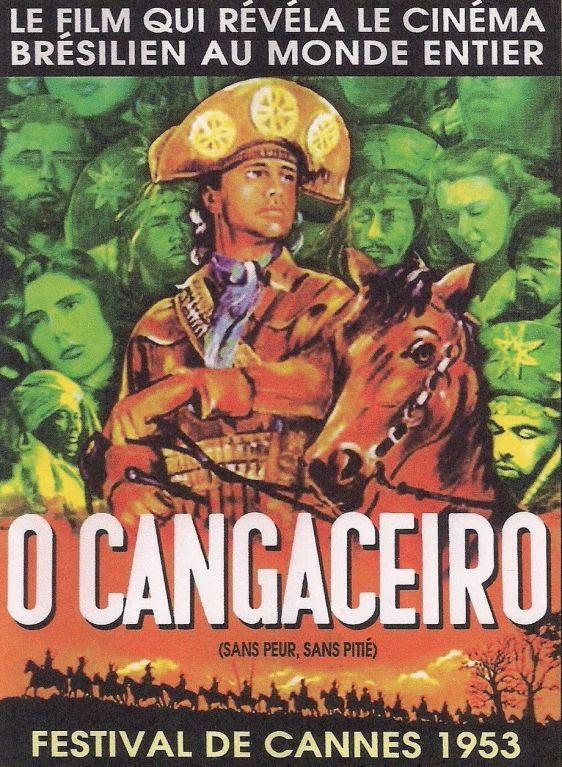 Cartaz do filme brasileiro O Cangaceiro, de Lima Barreto