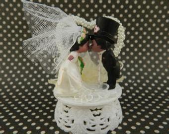 50th Wedding Anniversary Cake Topper / Golden Anniversary Cake